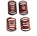 Cap-16098 Red Shock Spring Kit (Qty4)