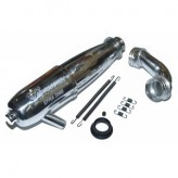 Cap-2068 Capricorn EFRA 2068 On-Road Muffler + Conical Manifold Kit