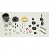 Cap-16080G Capricorn Complete Carbon Front Diff Assy